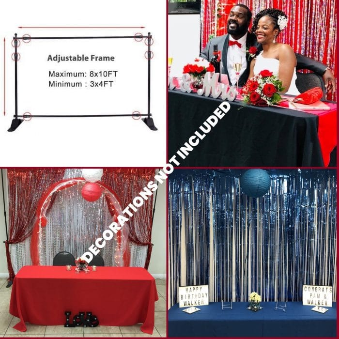 8X8 Backdrop Frame