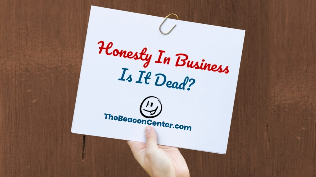 Honesty in Business photo