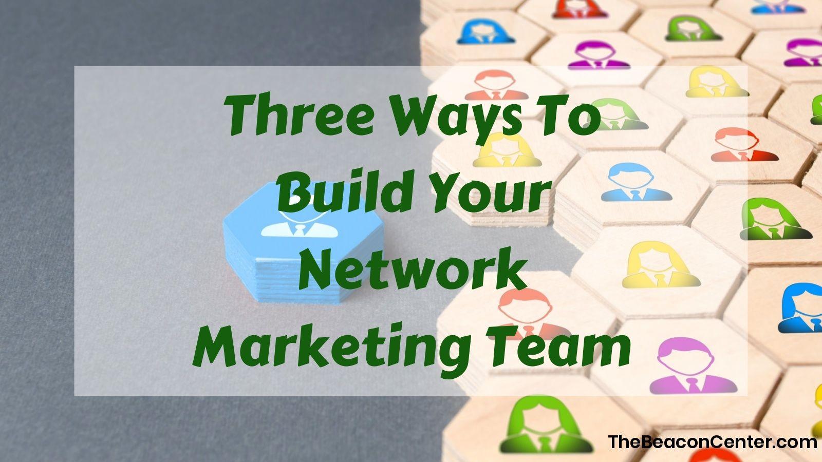Network Marketing Team Photo