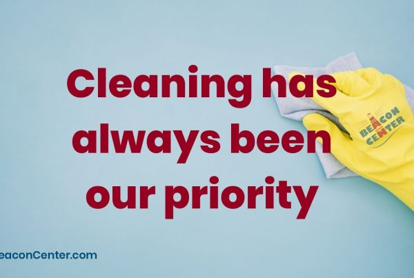 Cleaning is our priority photo