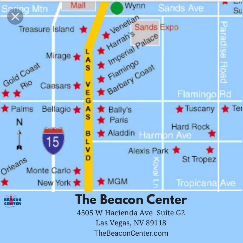 Hotel Map Strip