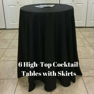 High Top Table Photo