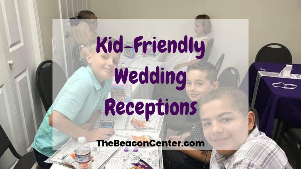 Kid-Friendly Wedding Reception photo
