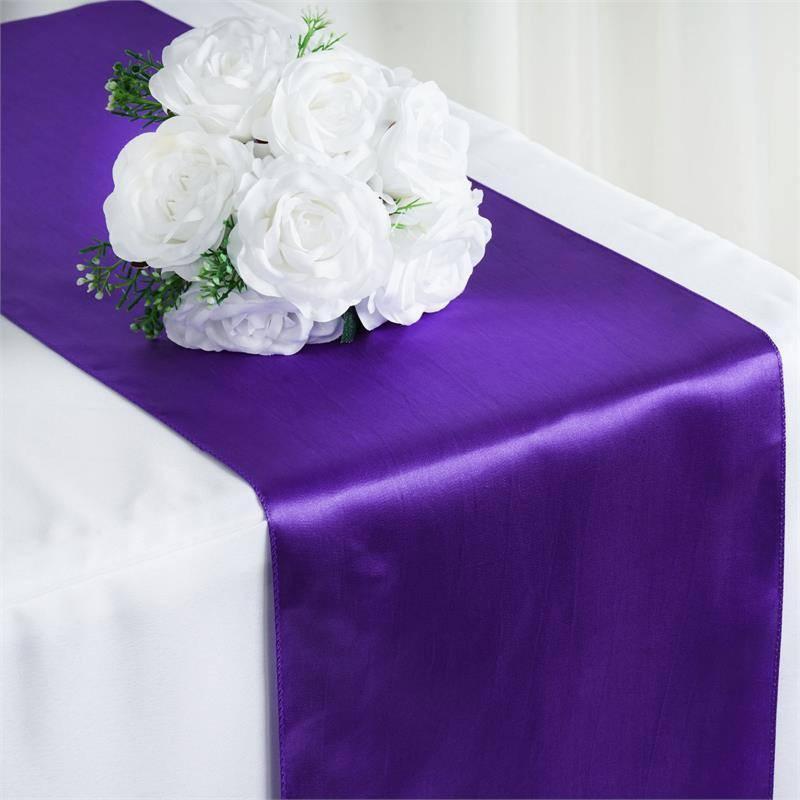 Royal Purple Table Runner