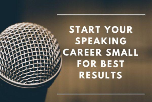 Public speaking image