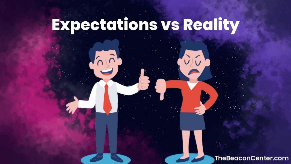 Expectations vs reality photo