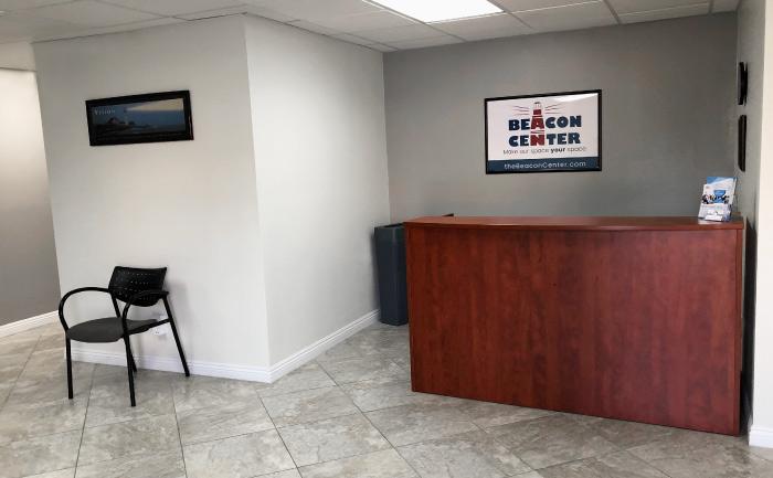 The Annex Reception Desk Area